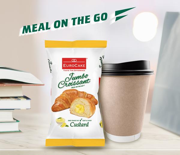 Eurocake Jumbo Custard Croissant