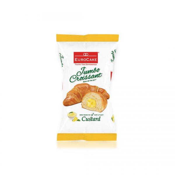 Eurocake Custard Croissant Singles Front