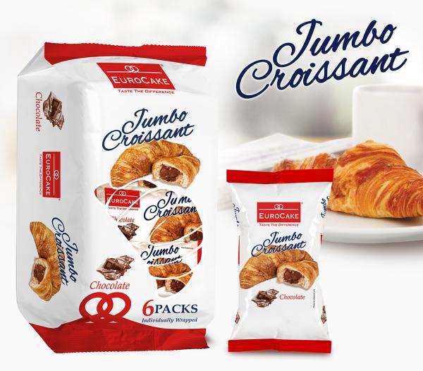 Eurocake Jumbo Chocolate Croissant