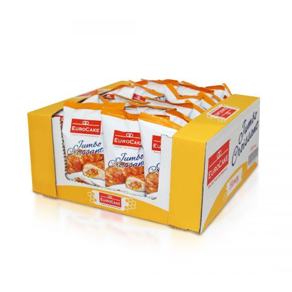 Eurocake Custard Croissant 24pc Tray