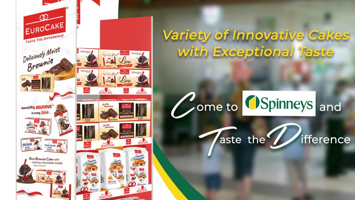 Eurocake's Successful Launch at Spinneys Supermarket Chain Throughout the UAE