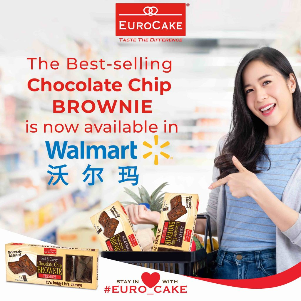 Dofreeze LLC Announces Successful Launch of Best-Selling Eurocake Chocolate Chip Brownie in Over 400 Wal-Mart China Stores