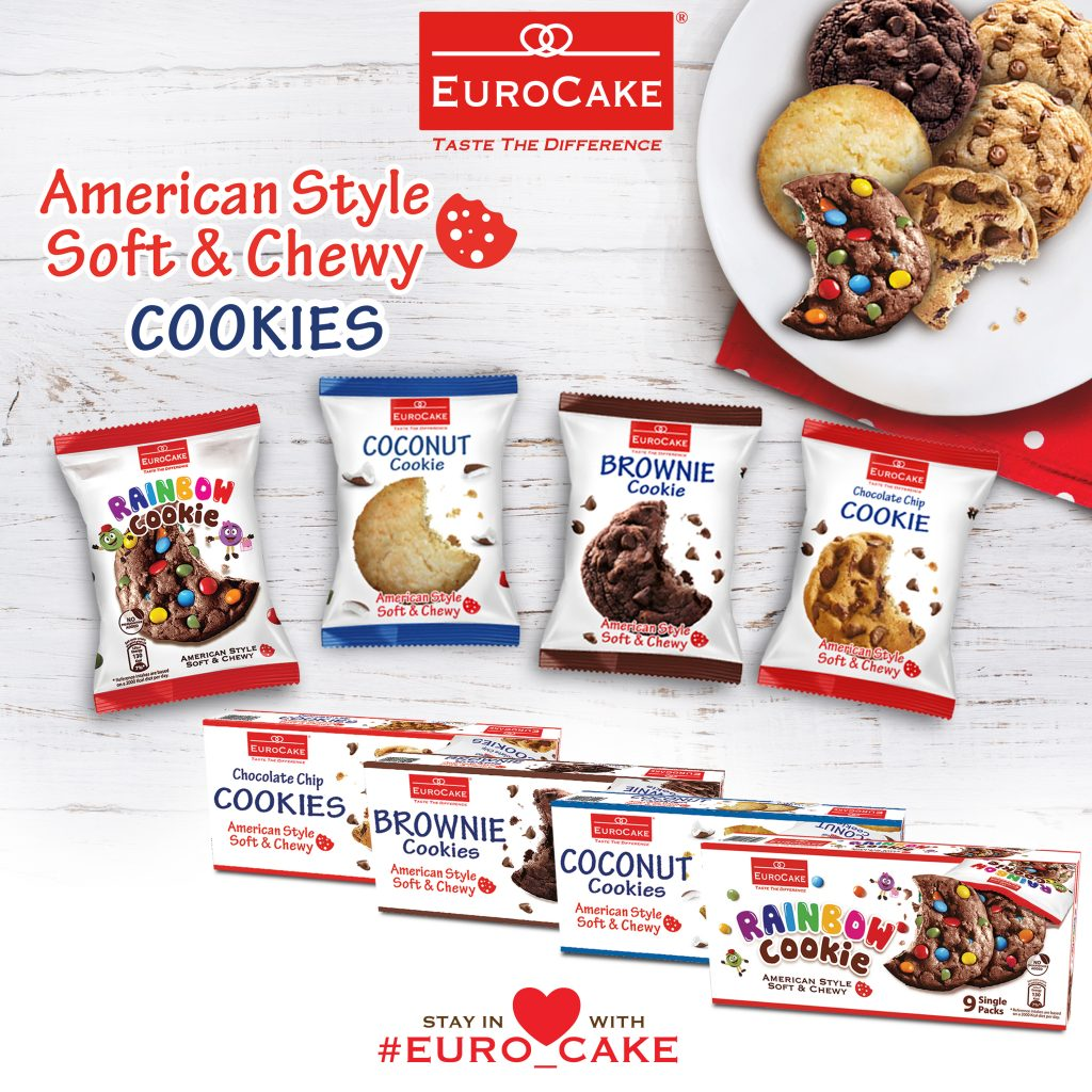 Eurocake Dubai Launches Middle East's First-Ever American-Style Soft and Chewy Cookie Product Range