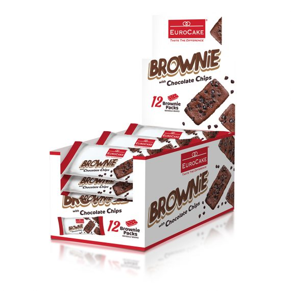 EUROCAKE BROWNIE 12PC BOX