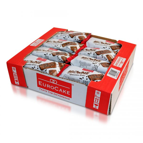 EUROCAKE BROWNIE 24PC TRAY