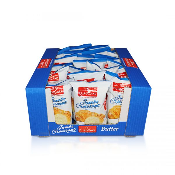 Eurocake Butter Croissant 24pc tray