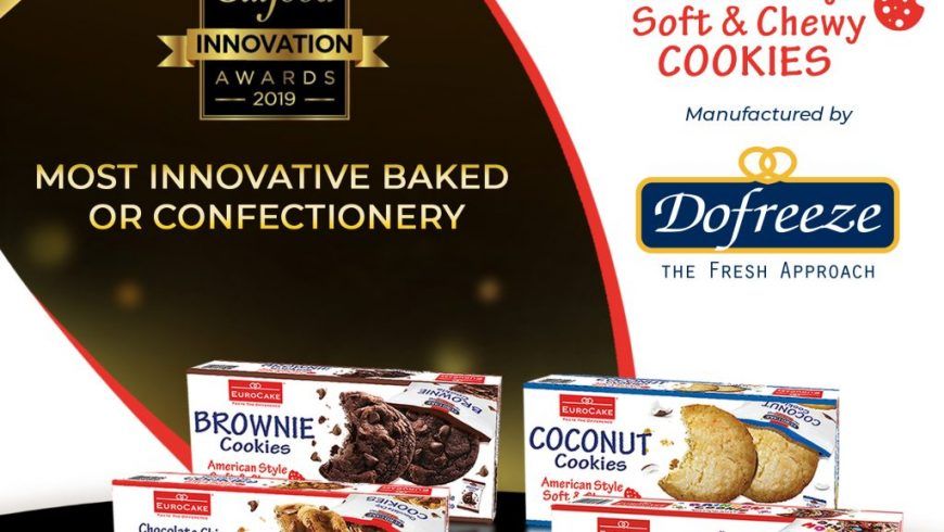 Eurocake Soft and Chewy Cookie Range Shortlisted for Gulfood Innovation Awards 2019