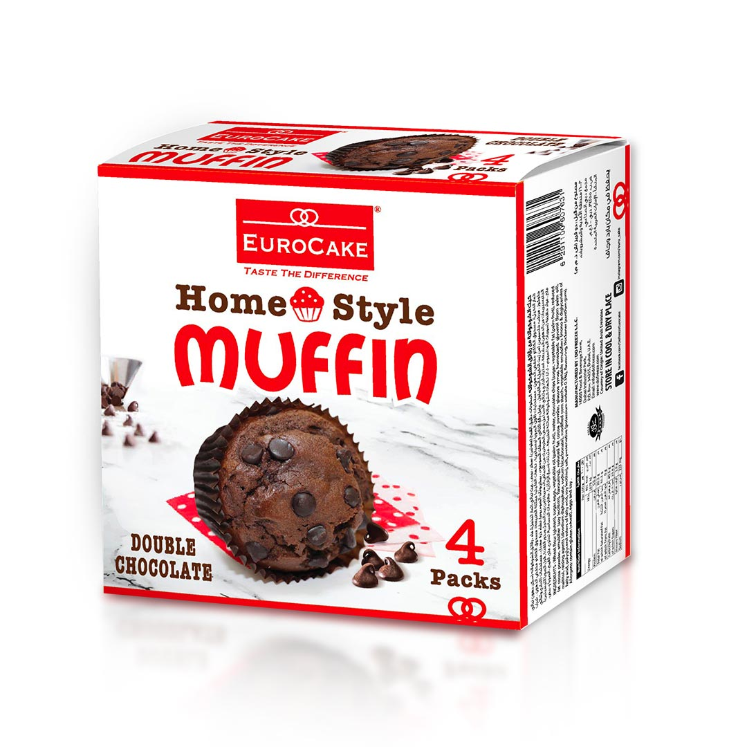 Eurocake Homestyle Double Chocolate Muffin