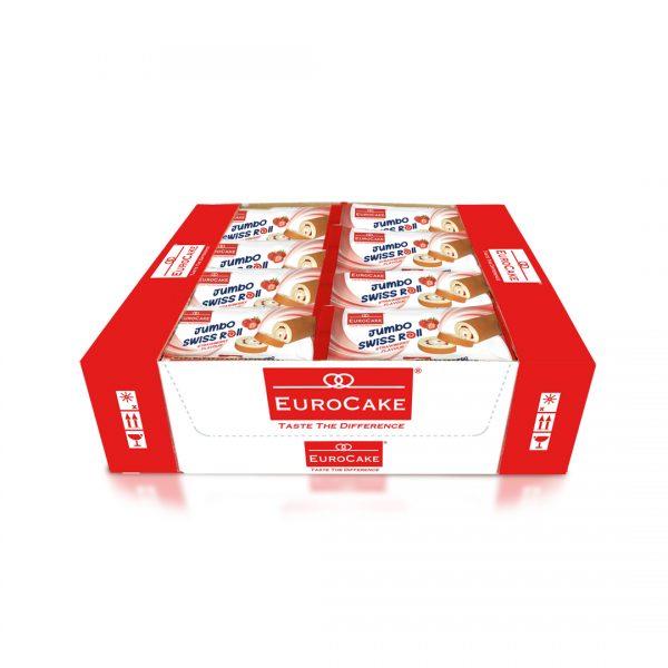 EUROCAKE-Jumbo-Swiss-Strawberry-roll-24pc-tray
