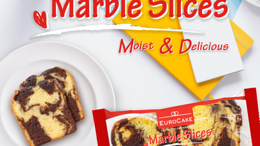 Dofreeze Announces Launch of New Moist and Delicious Eurocake Marble Slices