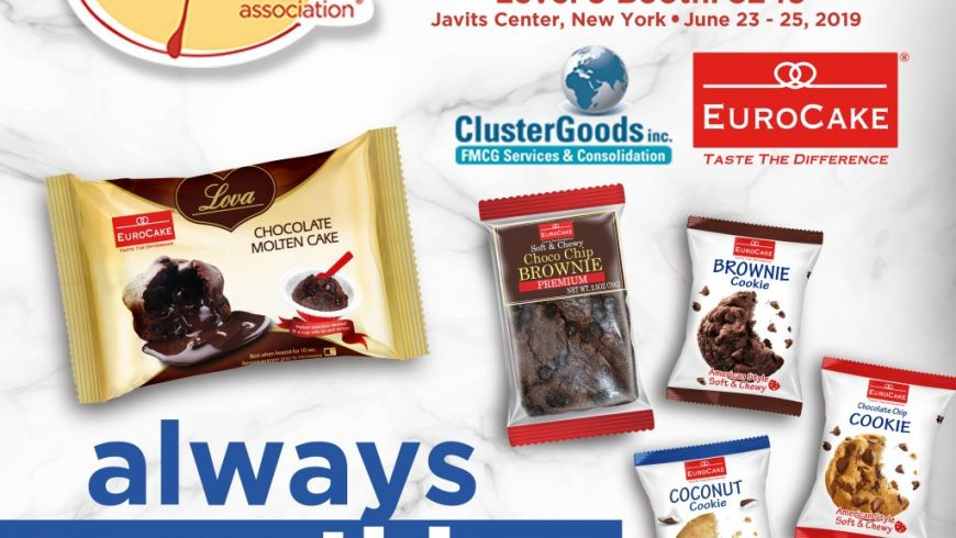 Eurocake to Participate in the Summer Fancy Food Show