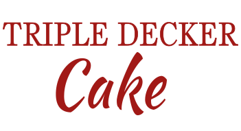 Eurocake Triple Decker Cake