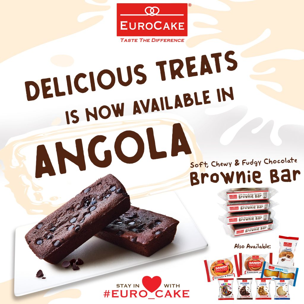 Eurocake's Delicious Treats Coming to Angola Grocery Stores This May