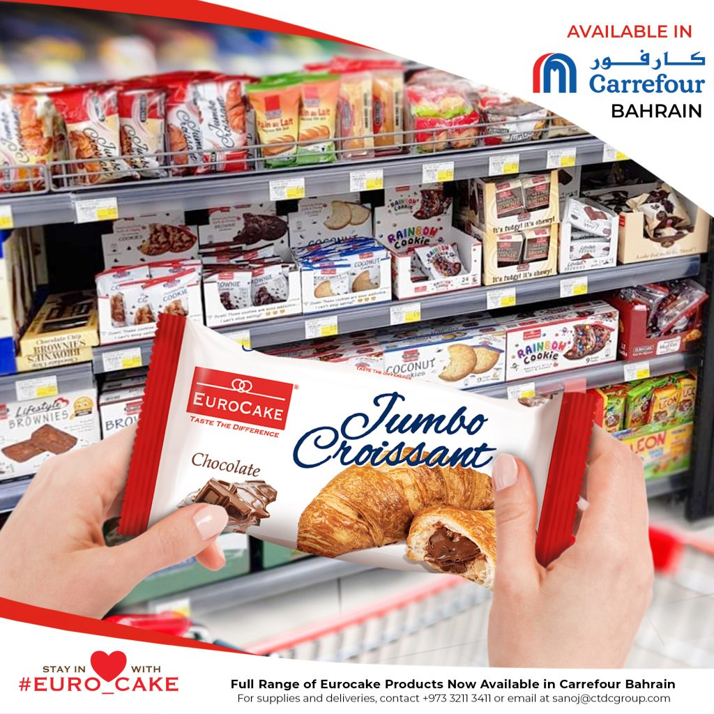 Eurocake Products Now Available in Carrefour Bahrain