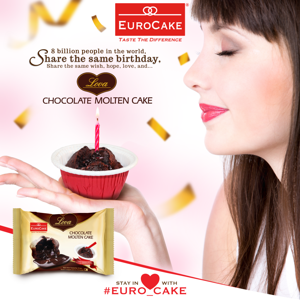Official Launch of Delicious Eurocake Lova Chocolate Molten Cake in the Middle East