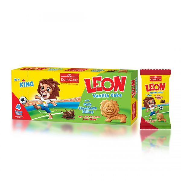 Eurocake Leon Cake - 4PC Box